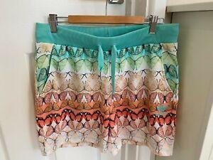adidas Brand New Butterfly Shorts UK 12 Elasticated Waist Inc UK P&P RRP €39.95