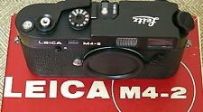 Leitz Leica M4-2 NEW Store OLD Stock, BOXED BODY, complete