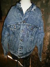 Vintage Levis Mens Size Large Acid Stone Wash Classic Jean Trucker Jacket 70507