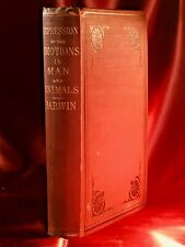 EXPRESSION OF THE EMOTIONS IN MAN AND ANIMALS ~ Charles Darwin ~ First US Ed.