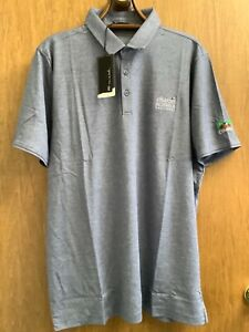 Charles Schwab Challenge Men's Blue Golf Shirt Colonial Country Club New