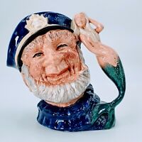 "Royal Doulton OLD SALT Large Toby Character Jug Mug, D6551 7 1/2"". Pre-owned."