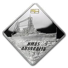 Palau 2011 Silver Proof $10 HMAS Australia Battleship - SKU #73174