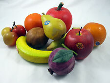 Faux Fruit Fake Pomegranate Oranges Apple Banana Plum Pear Theater Props Display