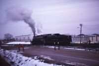READING Railroad Steam Locomotive Original 1972 Photo Slide