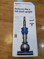 NEW Dyson DC50 Ball Compact Allergy Plus Upright Vacuum Blue/Silver HEPA