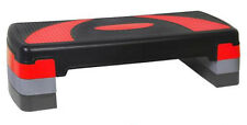AEROBIC STEPPER CARDIO FITNESS STEP BOARD-3 LEVELS  HOME GYM EXERCISE BLOCK