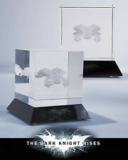 Batman: The Dark Knight Rises The Bat Glass Laser Etching Cube DC Collectibles