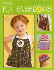 FUN FASHIONS FOR GIRLS ~ CROCHET DESIGNS ~ NEW