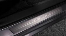 Toyota Corolla 2014 Aluminum Door Sills Set of 4 - OEM NEW!