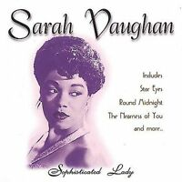 FREE US SHIP. on ANY 3+ CDs! ~Used,Good CD Vaughan, Sarah: Sophisticated Lady Or