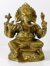 Ganesh Lord Elephant Ganesha Statue Bronze Tibet India Hindu Buddha