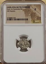 Ngc Fine. Celtic. Southern Gaul. Volcae Tectosages Silver Drachm. Ca. 200-118 Bc