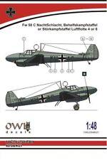 Owl 1/48 Focke-Wulf Fw-58C Weihe Nachtschlacht # S4821