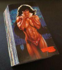 1995 VAMPIRELLA GALLERY COMPLETE TRADING CARD SET, 72 CARD BASE SET