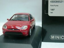 WOW EXTREMELY RARE Ford Puma 1.4 16V 1997 Red Silver 1:43 Minichamps-RS/GT/Focus