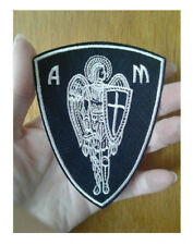 St Michael - Saint - Archangel - Angel - Christian - Faith - Iron ON Patch