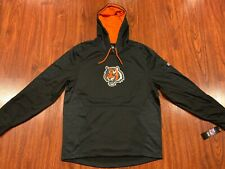 Majestic Men's Cincinnati Bengals NFL Armor Hoodie Sweatshirt Large L Football