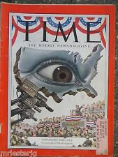 Time Magazine  July 14, 1952  Convention Time, U.S.A.  VINTAGE ADS
