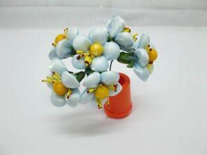 12BundleX6Pcs Craft Wedding Decor Plum Flower - Skyblue