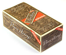 Smoking No 8 PURE HEMP Unbleached Rolling Paper - 1 box ( 50 booklets )