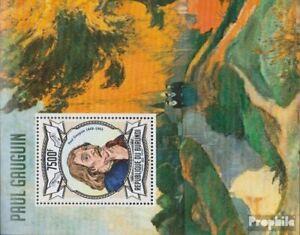 Burundi Block340 (complete issue) unmounted mint / never hinged 2013 Paul Gaugui