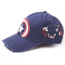 NEW OFFICIAL Marvel Comics Captain America Retro Baseball Cap Hat Snapback