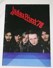 Judas Priest Official Japan Tour Program 1978