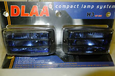Pair DLAA Universal Fog Lamp Light Spot H3 12V 55W Blue Lens