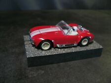 """'65 Shelby Cobra ho slot car AFX TOMY chassis """"Displayed"""""""