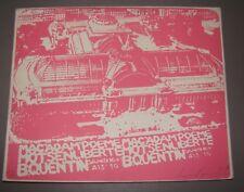 France Art Signed Andy Warhol Style Macadam Poeme Mot Sen Liberte lithograph