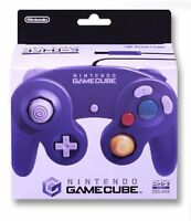 Nintendo Gamecube dedicated controller violet w/Tracking# form Japan New F/S