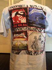Vtg 88 Metallica Justice Tour Shirt Sz M/L Rock Satanic Speed Metal Megadeth 666
