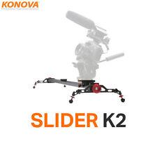 """Konova Camera Slider K2 80cm(31.5"""") Kamera Schiene Slider Videoschiene für DSLR"""