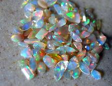 über 200 facettierte äthiopien opale , lot 5-9,5mm, 100 ct.