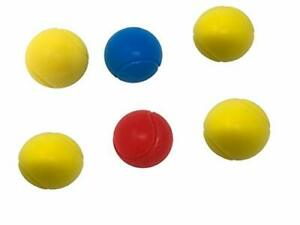 6x E-Deals Soft Foam Tennis Balls Baby Kids Sponge Practice Play Squeeze Toy