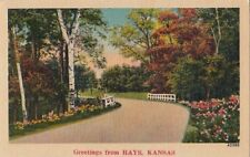 Postcard Greetings from Hays Kansas KS