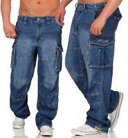 Jet Lag Jeans Hose Herren Cargo Herrenhose Cargohose Jeanshose Männer Safety A