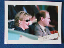 "Original Press Photo - 8""x6"" - Prince Edward & Sophie Rhys Jones - 1999"