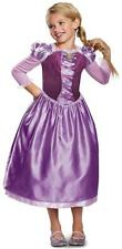 Rapunzel Day Dress Classic Disney Tangled Fancy Dress Up Halloween Child Costume