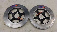 1977 Honda CB750F Super Sport CB750 H1295' front brake rotor disc set pair #3