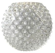 Windlicht - Kugelvase aus Kristallglas Ø 15cm, Höhe 13cm