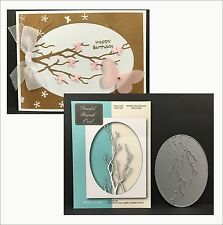 Memory Box dies - GRACEFUL BRANCH OVAL metal cutting die 99465 Trees,branches