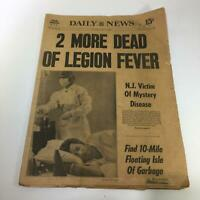NY Daily News: 8/5/76 2 More Dead Of Legion Fever; NJ Victim Of Mystery Disease