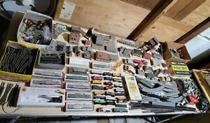 Huge N Scale Train Collection #4