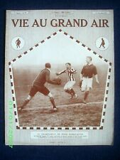 """VIE AU GRAND AIR"" #739 Sport: AVIATION Coupe Gordon-Bennett BOXE FOOTBALL 1912"