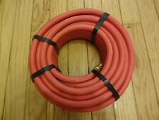 """Good Year 50' x 1/4"""" Air Hose Rubber 50ft Compressed Air 12570 Goodyear RED"""