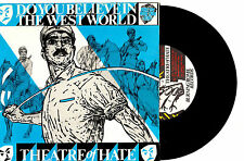 """THEATRE OF HATE - DO YOU BELIEVE IN THE WEST WORLD - 7"""" 45 RECORD PIC SLV"""