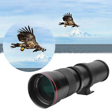 420-800mm F/8.3-16 Super Manual Telephoto Zoom Lens Black For Minolta Nikon Sony