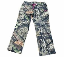 Womens MOSSY OAK Break-Up Country Camo Sweatpants Ladies Large 12-14 Camouflage